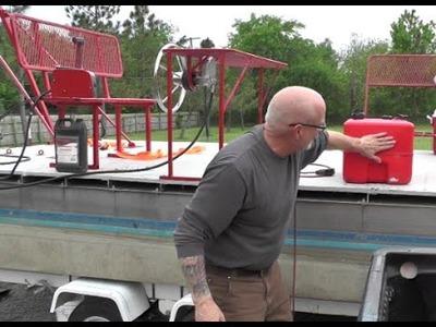 ROV's Boat Fixtures and Welding Plastic