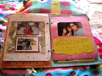 Scrapbook for my boyfriend