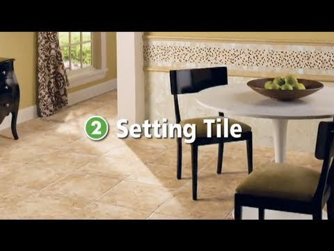 Step 2 - How to Set Your Tile