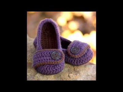 Super easy beginner crochet women slippers