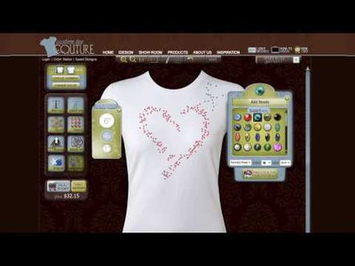 T-Shirt Design Tips - Designing Your Custom T-Shirt with Bead Spray.