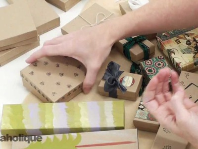 Techniques and Ideas for Decorating Kraft Boxes