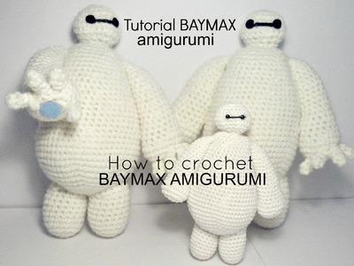 Tutorial BAYMAX big hero 6 | HOW TO CROCHET BAYMAX AMIGURUMI - PART I