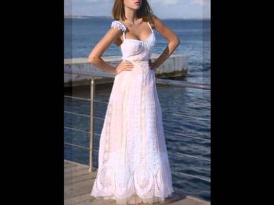 Vestidos de novia tejidos a crochet