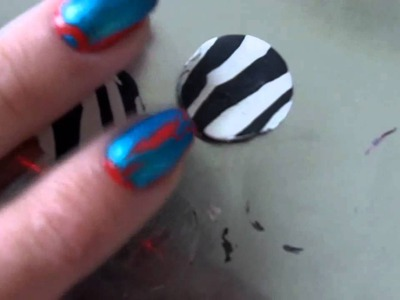 Zebra Beads- Polymer Clay Tutorial (+Craft!)