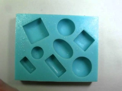 1. Molding a Polymer Clay Faux Turquoise Cabochon