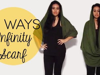 14 Ways to Wear an Infinity Scarf