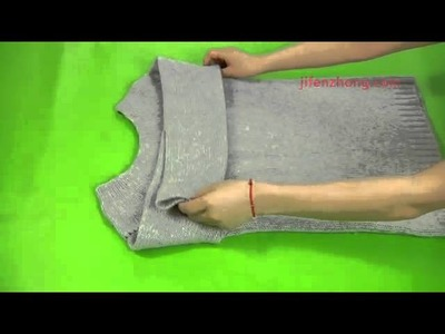 5139 How To Pack the Sweater Neatly