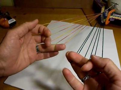 6-Loop Spiral Braid (pt 1) + alternate methods, right-handed