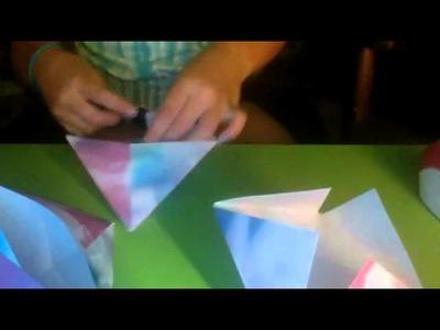 Abbie's Easy How To Origami: 3d diamond