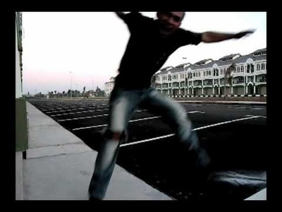 After effects CS4 jumper and flying effect test