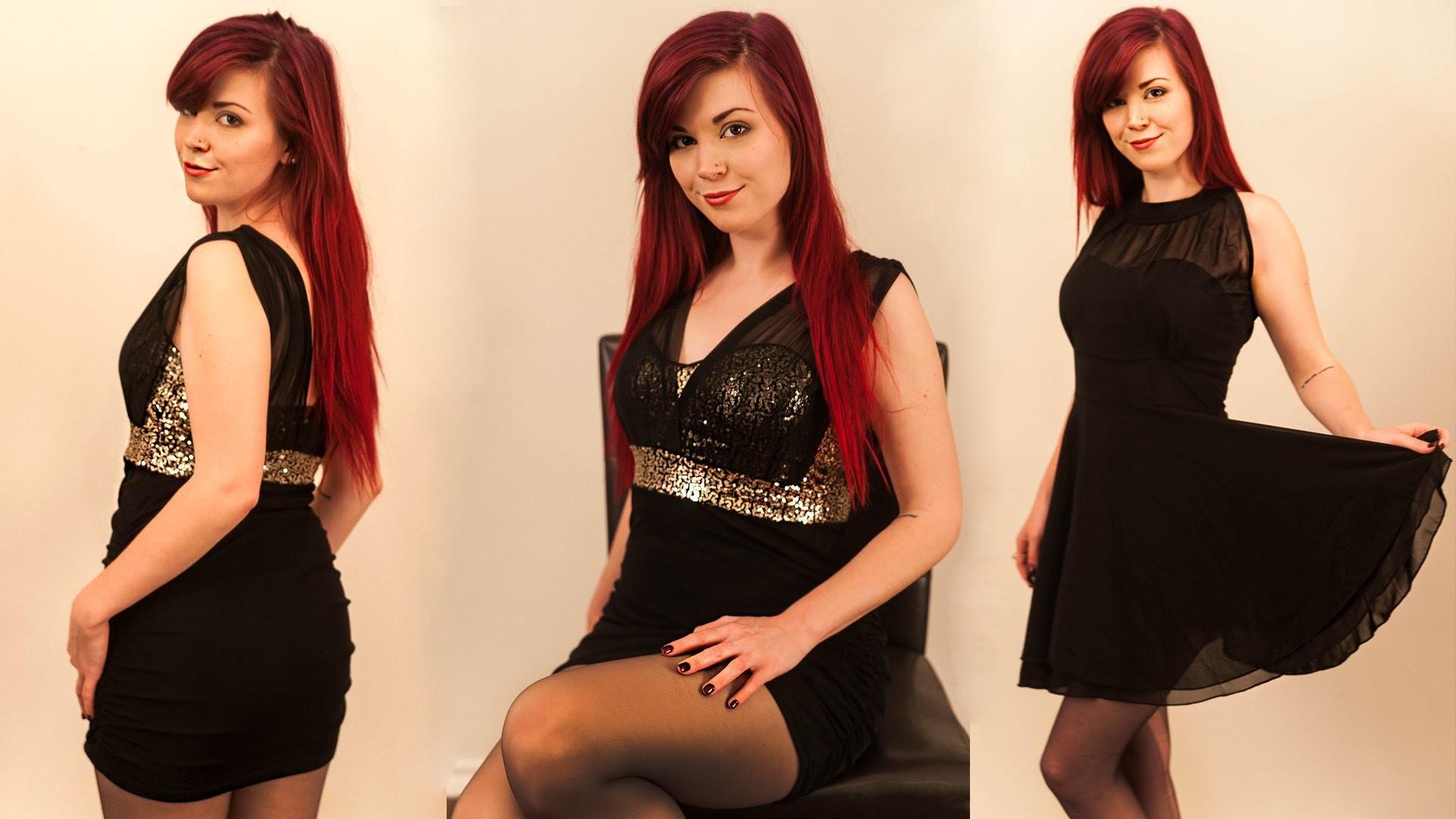 ASMR Dress Up Fashion Show Haul 2 Cheap Dresses by NewDress Whisper Ear to Ear Binaural
