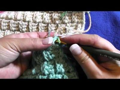 Basket Weave Blanket part 3