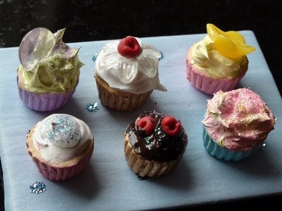 DIY: How To Make Miniature Cupcakes With Polymer Clay