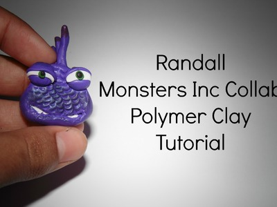DIY Monsters Inc Randall | Polymer Clay Tutorial