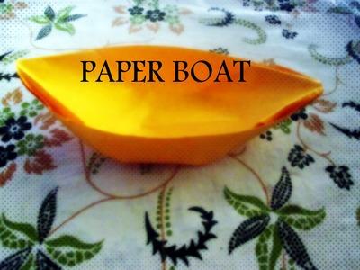 DIY Paper Crafts :: Origami Paper Boat - Innovative paper arts