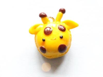 DIY Polymer Clay How-To: Kawaii Giraffe Macaron Tutorial
