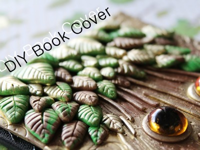 DIY Polymer Clay Journal Cover