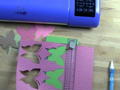 ECraft Troubleshooting Basics and Creating a Card with Paper Layerz