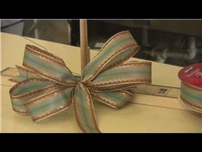 Gift Wrapping Tips : How to Use a Bow Maker