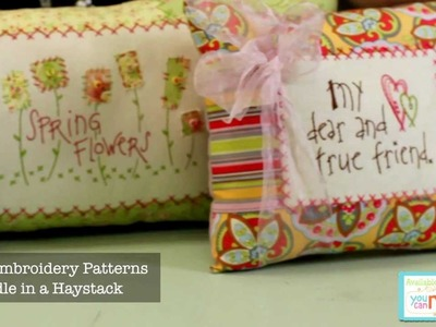 Hand Embroidery Patterns by Needle in a Haystack