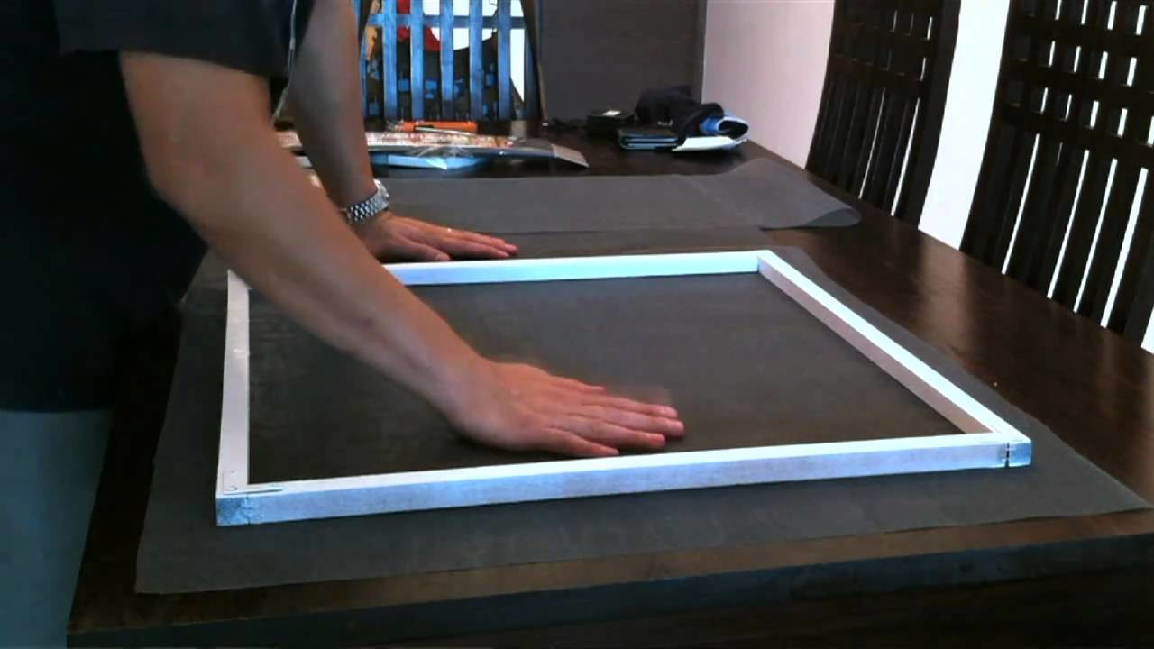 How to build a wooden window screen - DIY Now