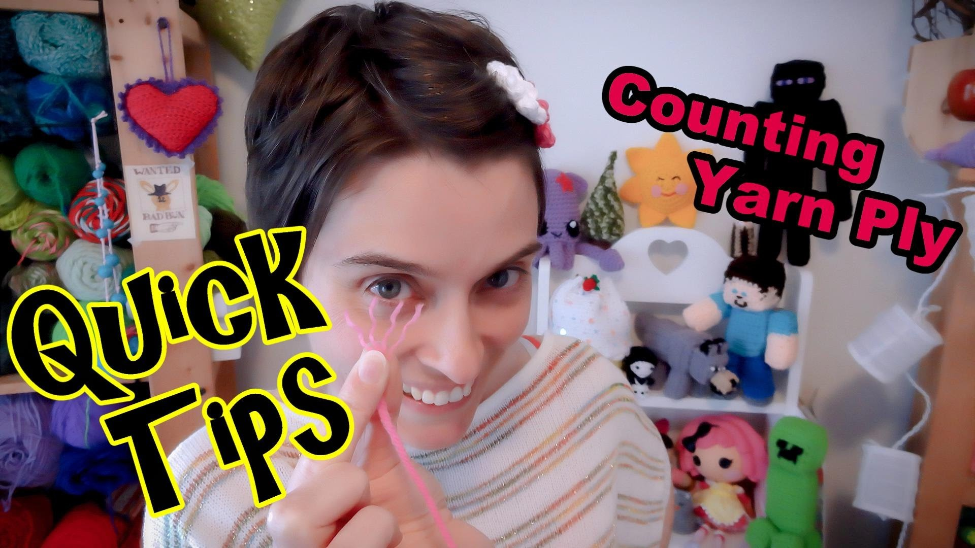 How To Count Yarn Ply - Quick Tip