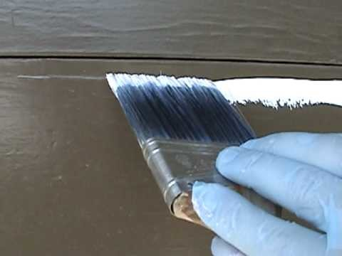HOW TO CUT A PERFECTLY STRAIGHT PAINT LINE WITH NO TAPE FREE-HAND