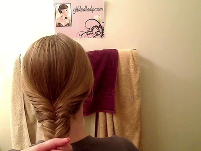 "How to do a Herringbone ""Fishtail"" Braid Tutorial"