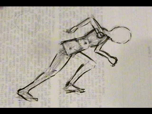 How to Draw People: #1 Technique for a Dynamic Posture