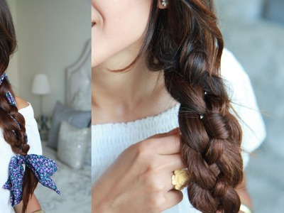 How To: Four (4) Strand Braid Hairstyle
