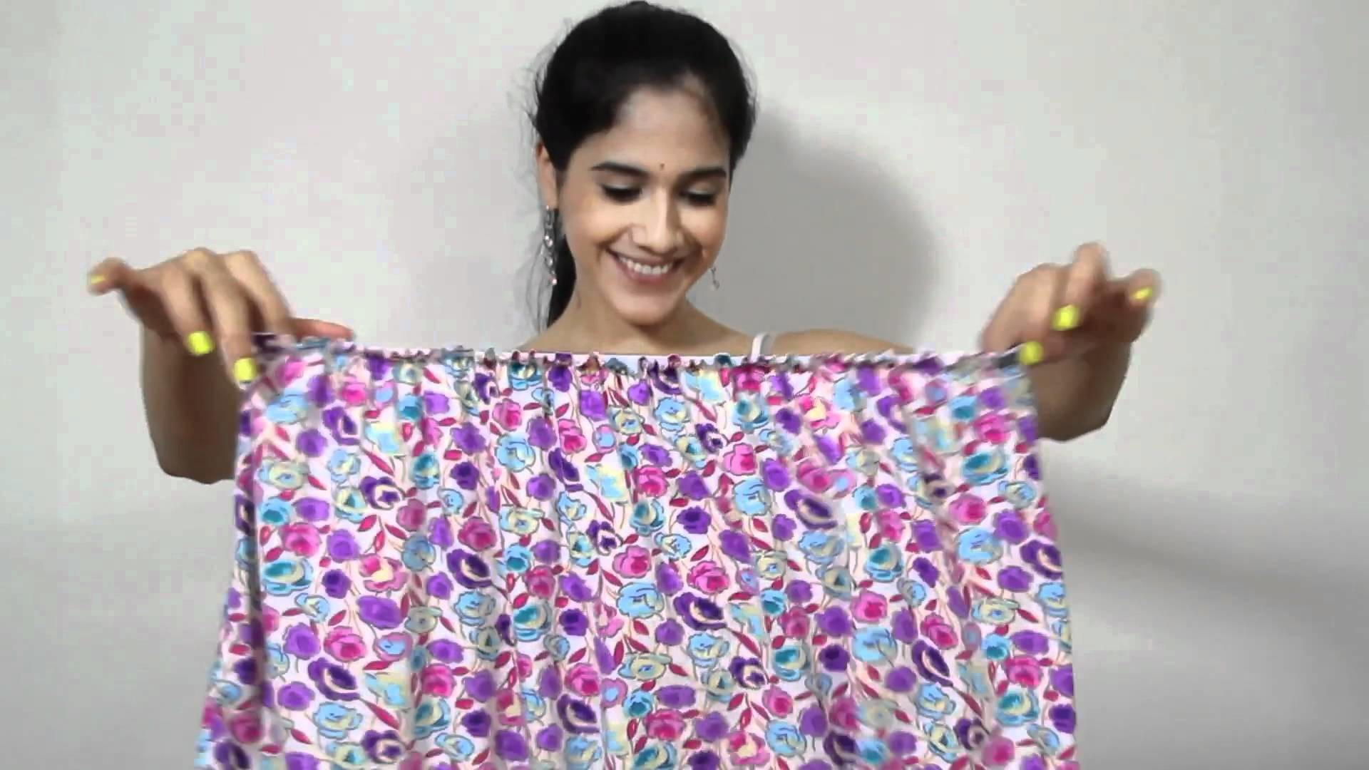 How to make a cute mini dress and matching sleeveless cardigan