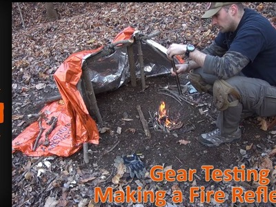 How to Make a Fire Reflector and Camp Cooking Set Up by Equip 2 Endure