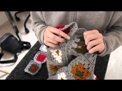 How to make a Granny Square Blanket- Part 2