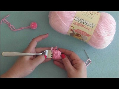 How To: Make a Pompom with a Fork