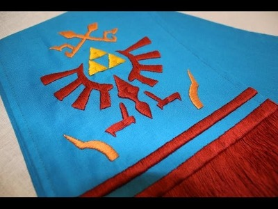 How to make Link's scarf from Hyrule Warriors (Tutorial)
