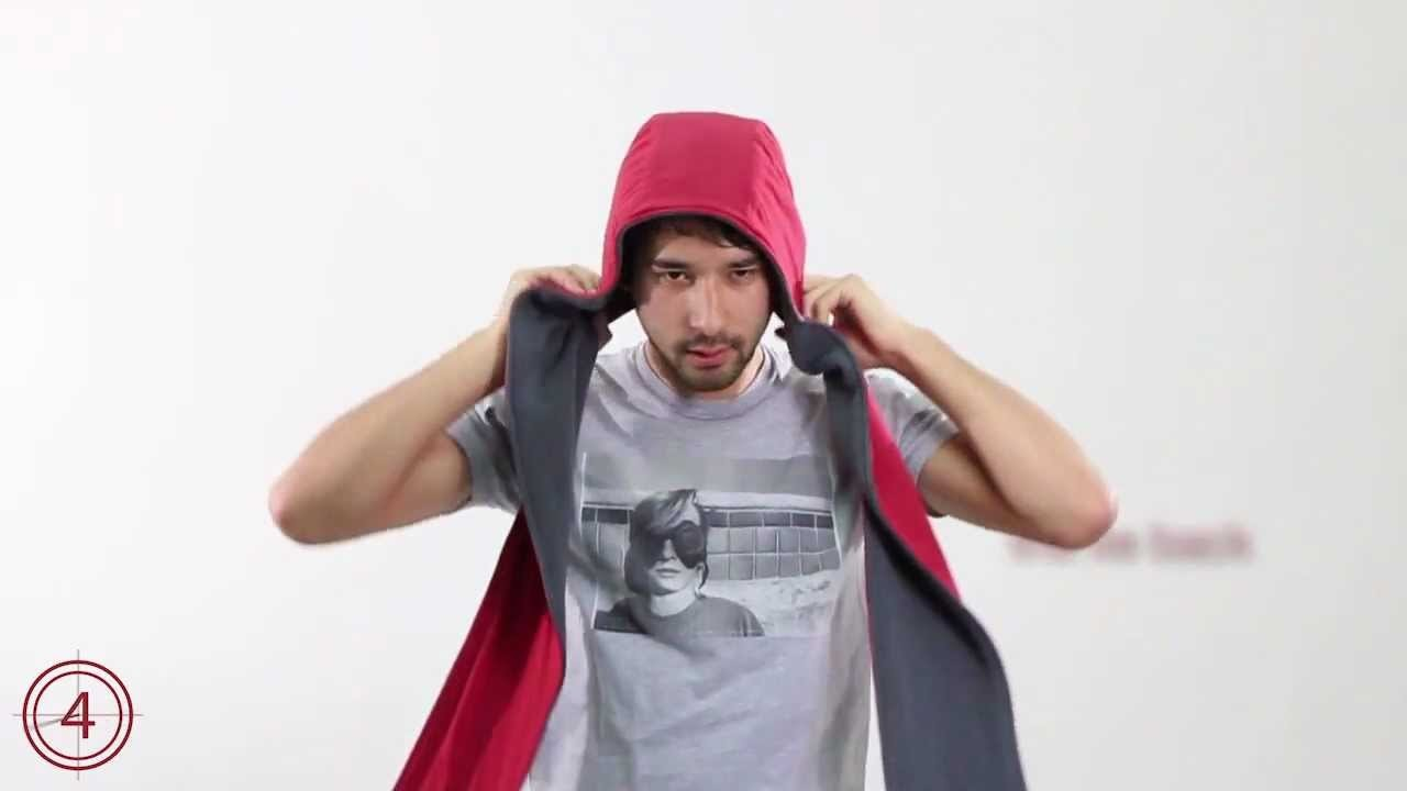 How To Tie A Hood Scarf