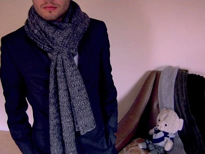 How to Tie a Scarf - Men - Slip Knot