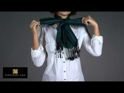 How to Tie a Silk Scarf in a Bow Tie