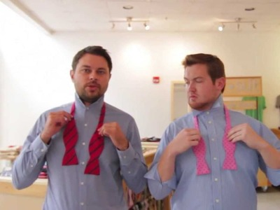 How to Tie the Perfect Bow Tie | Lessons from a Men's Shop