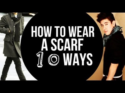HOW TO WEAR A SCARF 10 DIFFERENT WAYS ●  | JAIRWOO