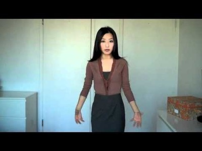 How to Wear.Style a Cardigan and Pencil Skirt Outfit for Work