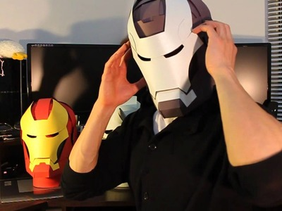 Ironman Papercraft - Response Video