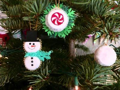 Jingle-Jangle Blog Party Hop! Bottle Cap Ornaments!