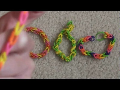 "Lesson 1: How to make a ""Single"" rubber band bracelet"