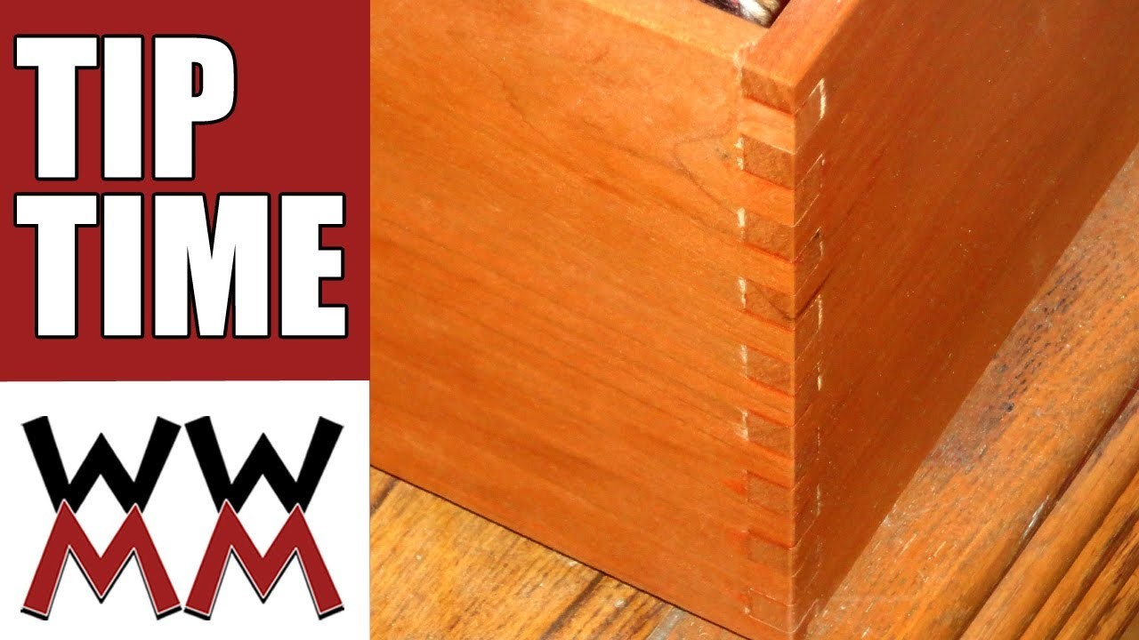 Make a simple woodworking box joint jig