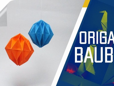 Origami - How To Make An Origami Bauble