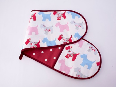 Oven gloves for you to sew by Debbie Shore