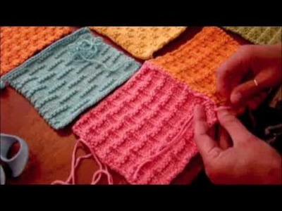 Part 2: Weaving in ends for the Dream Catcher Baby Blanket
