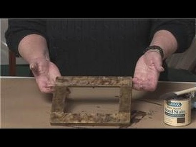 Picture Framing : How to Make a Picture Frame Look Antique